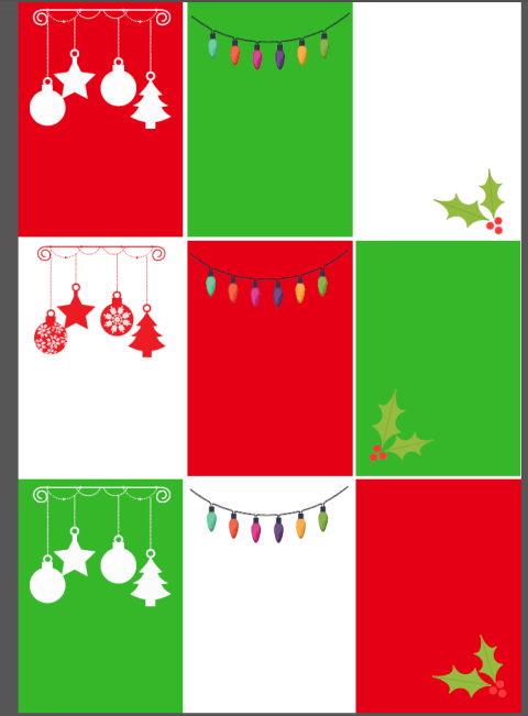 blank elf on shelf printable cards 2
