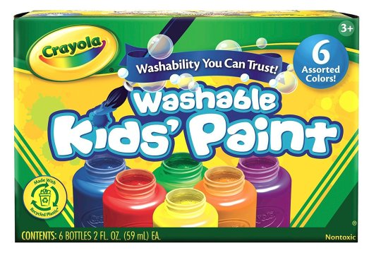 crayola washable paint stocking filler
