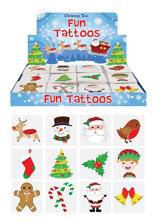 christmas stocking filler tattoos for kids