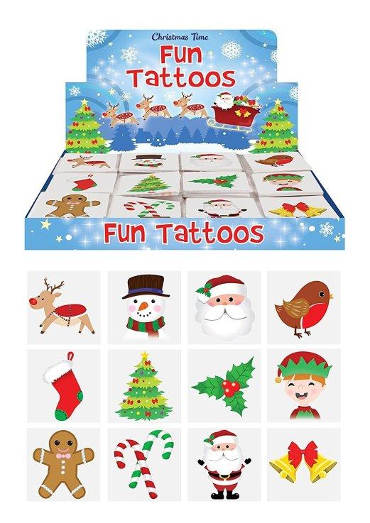 christmas stocking filler tattoos for kids