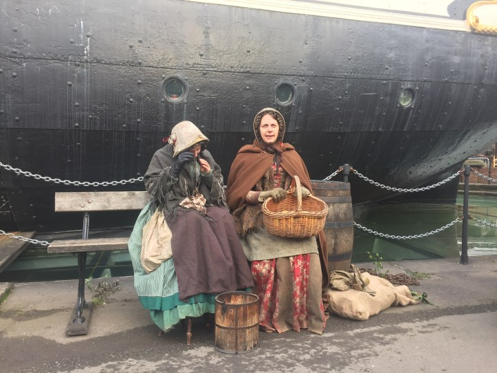 victorian christmas ss great britain bristol victorian costumes