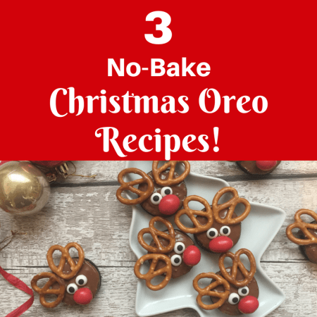 3 Super Easy No-Bake Christmas Oreo Cookie Recipes