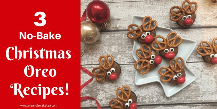 3 Super Easy No-Bake Christmas Oreo Cookie Recipes