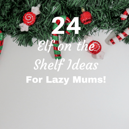 lazy parents mum mom ideas for elf on the shelf