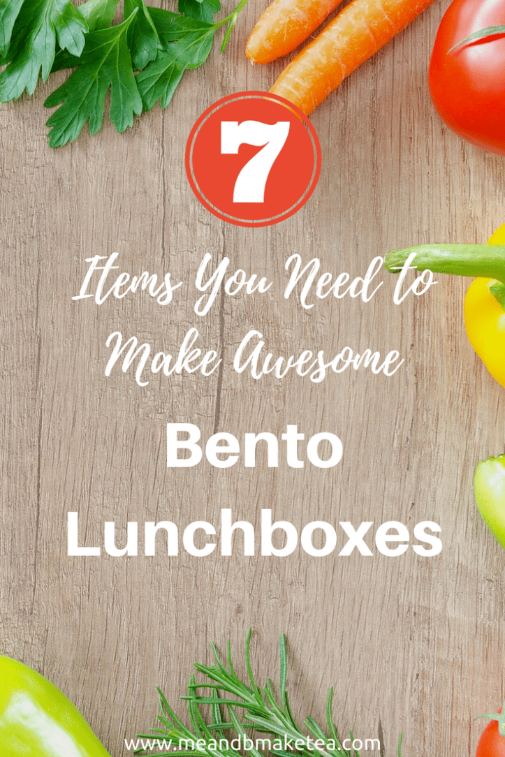 Items You Need to Make Bento Lunchboxes for Kids