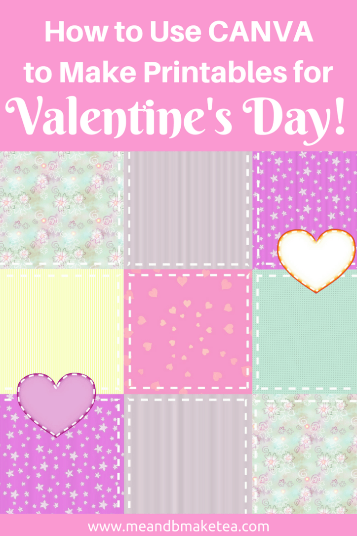 Want to use Canva to make super cute Valentine's Day printables for your home_ Take a look at my step-by-step tutorial and make your own for free this spring!