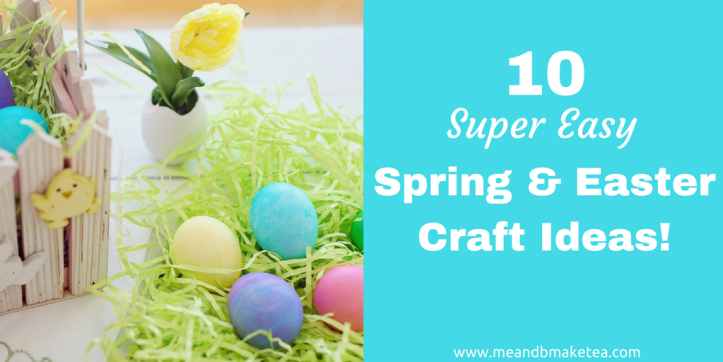 10 Easy Easter and Spring Crafts to do With Kids twitter thumbnail