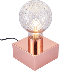 IMAGE CULT LIVING BEAM CRYSTAL STYLE TABLE LAMP, COPPER