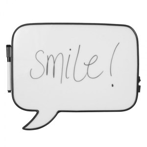 IMAGE CULT LIVING SPEECH BUBBLE LIGHT BOX MEMO BOARD - LARGE