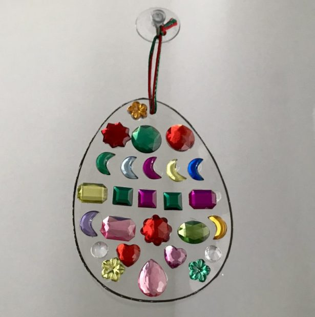 spring easter craft ideas for kids sun catchers