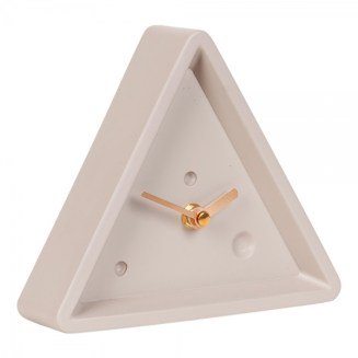 triangle alarm clock
