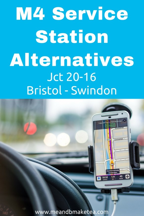 places to stop on m4 not service stations
