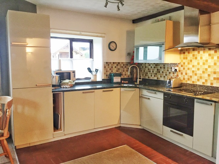 west withy farm cottages in Exmoor Devon perfect for digital detox family holiday bedroom kitchen dining