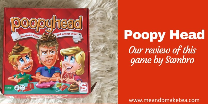 Poopy Head is a fast-paced card game from Sambro. Race your friends and family to be the first to find a toilet, poop, wipe and wash. Watch out, if you lose, you pop a poop on your head! The ultimate family poopy game.