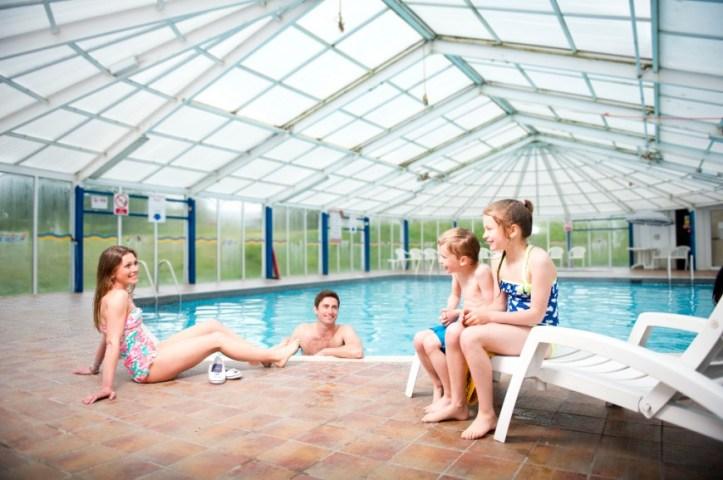 john fowler trelawne manor in Looe Cornwall swimming pool indoor