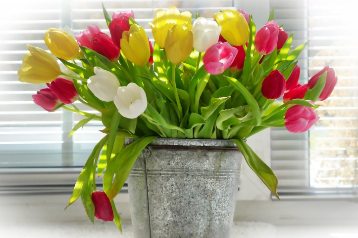 diy budget ideas for spring home decor themes using flowers and artificial flowers