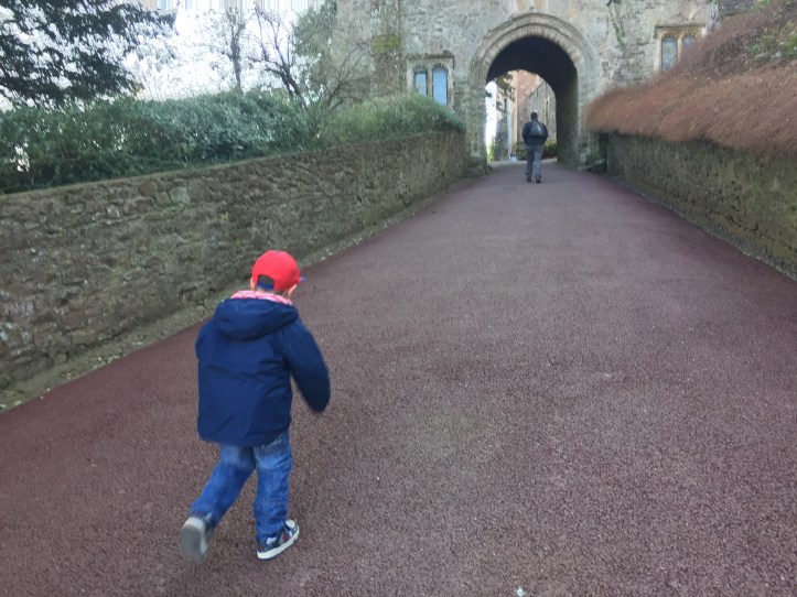 Dunster Castle national trust day out with kids