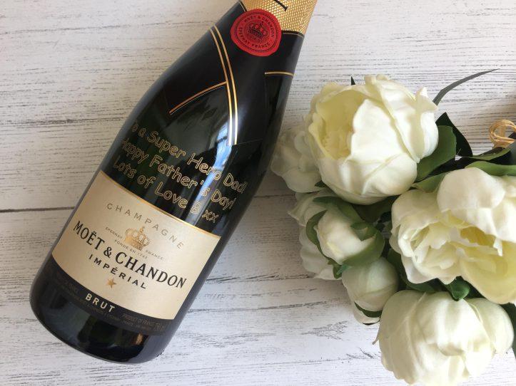 Personalised Moet Champagne GiftsOnline4U for weddings anniversaries
