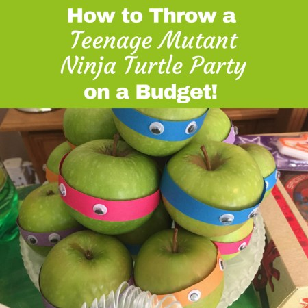 Teenage Mutant Ninja Turtle Party food ideas that are really easy to make