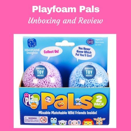 Collectible Sensory Fun With Playfoam Pals