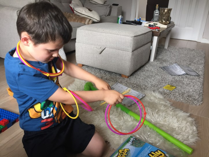 Our review of wobbly worm game by spinmaster - perfect for turn taking and learning