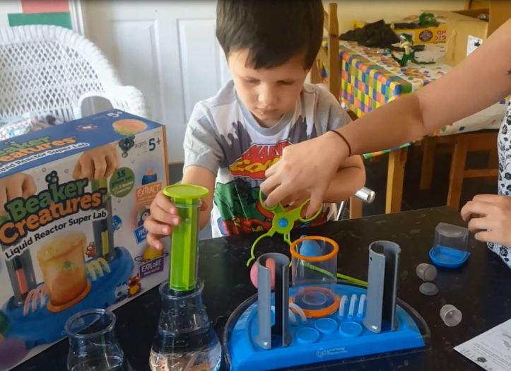 beaker creatures reactor lab review