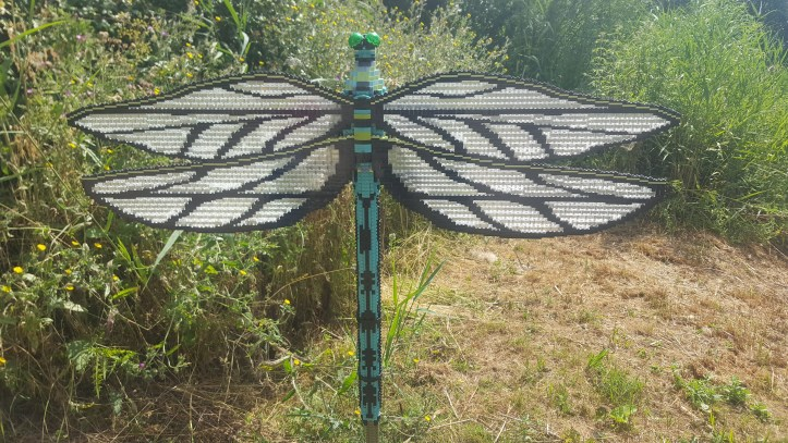 slimbridge wwt wildlife centre lego brick animal trail review