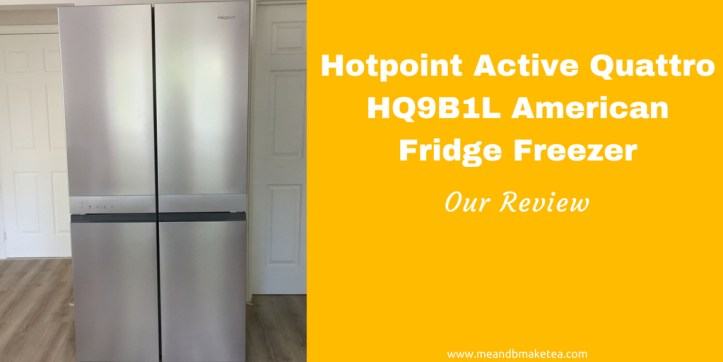 Hotpoint Active Quattro HQ9B1L American Fridge Freezer review