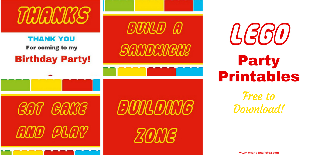 photo regarding Lego Printable named Totally free Lego Printables Your self Have to have for your Future Bash! Me And