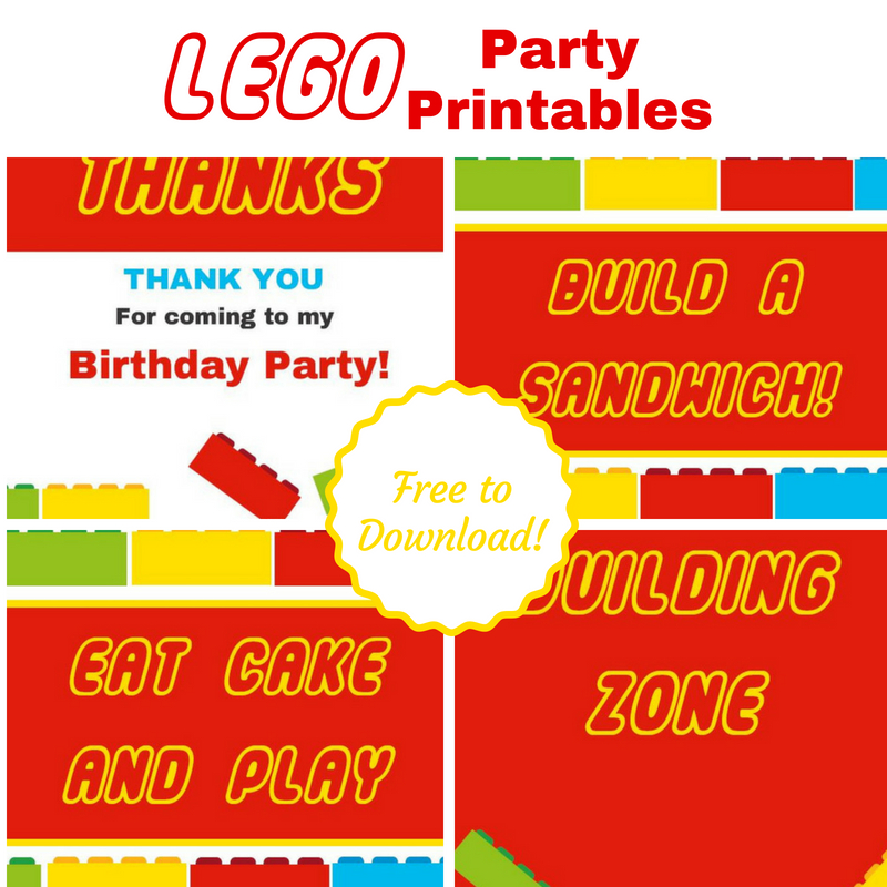 Free Lego Printables You Need for your Next Party! | Me ...