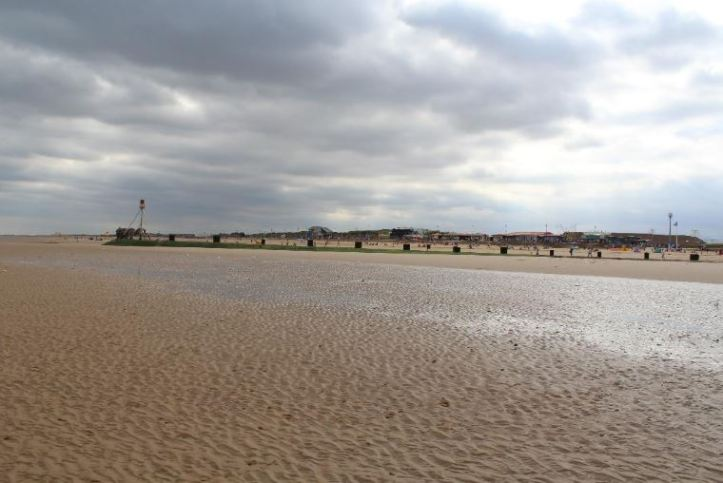 mablethorpe beach in Lincolnshire
