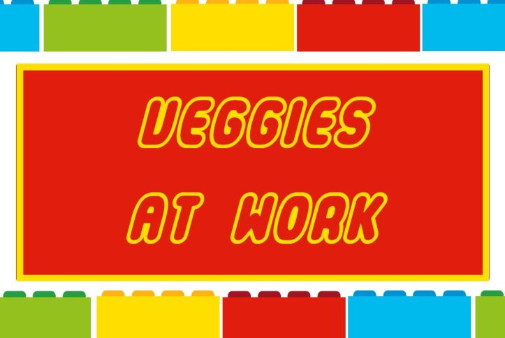 veggies at work free lego party printable