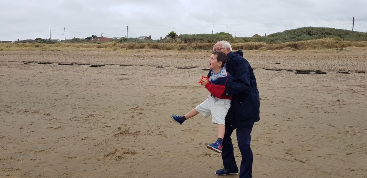 Flying kites in sand bay weston super mare free family days out