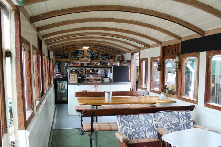 The Railway Carriage Cafe