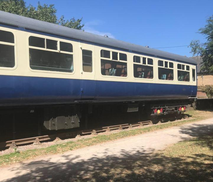 family days out braintree essex Rayne station carriages