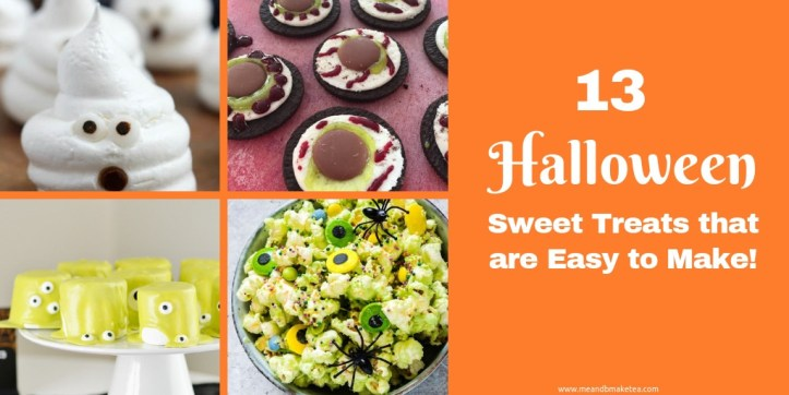 13 Halloween Sweet Treats That are Easy to Make!