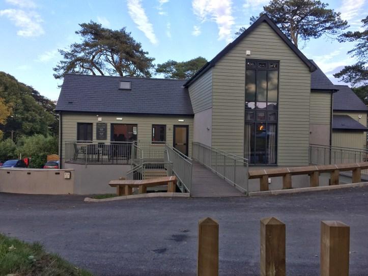 Beyond escapes luxury lodges in Devon reception