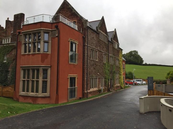 Beyond escapes luxury lodges in Devon entrance