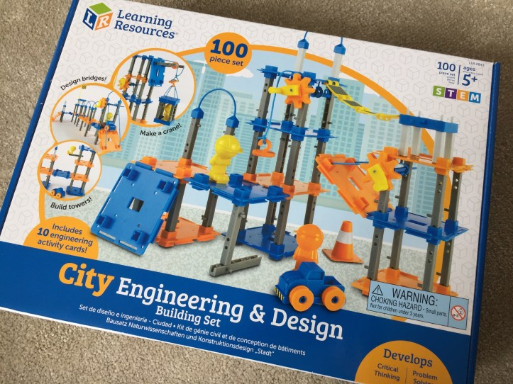 City Engineering STEM Toys from Learning Resources