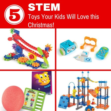 5 STEM Toys your Kids Will love This Christmas! (1)