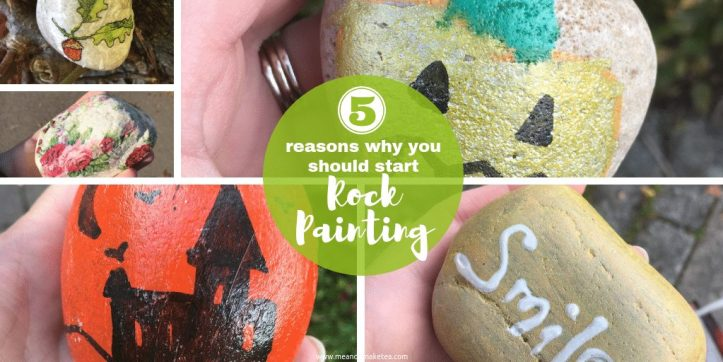 Rock painting is fun for adults and kids! Take a look at why we're really enjoying painting and decorating, hiding and re-hiding rocks this year!