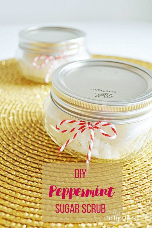 DIY Peppermint Scrub