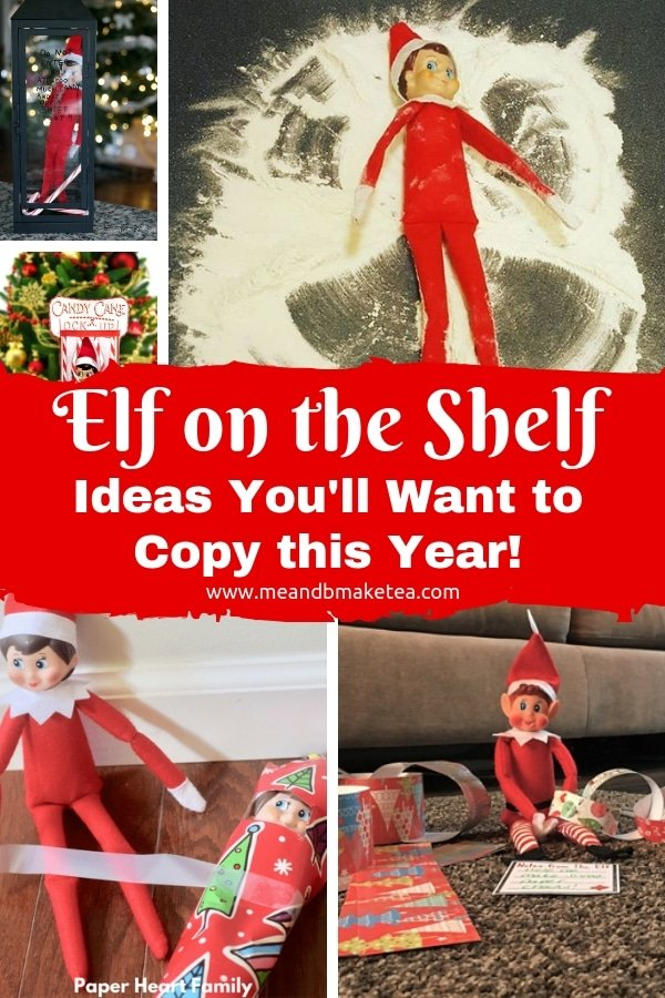 elf on the shelf ideas that are super easy to do