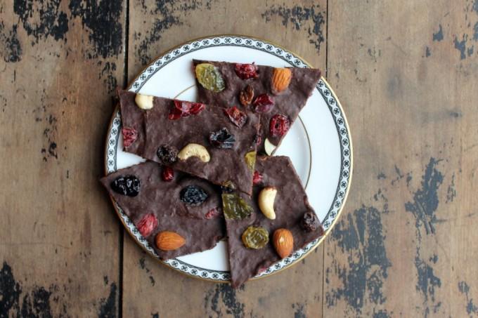 Pumpkin Spice Chocolate Bark