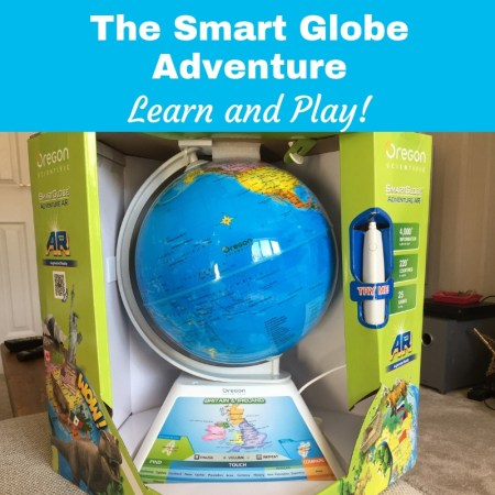 The Oregon scientific Smart Globe Adventure AR - Augmented Reality review