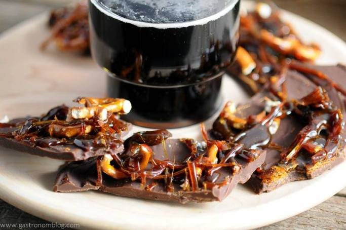 beer brittle christmas chocolate bark recipe