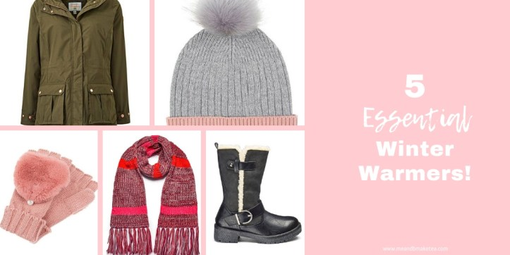 5 essential items to keep you warm this winter