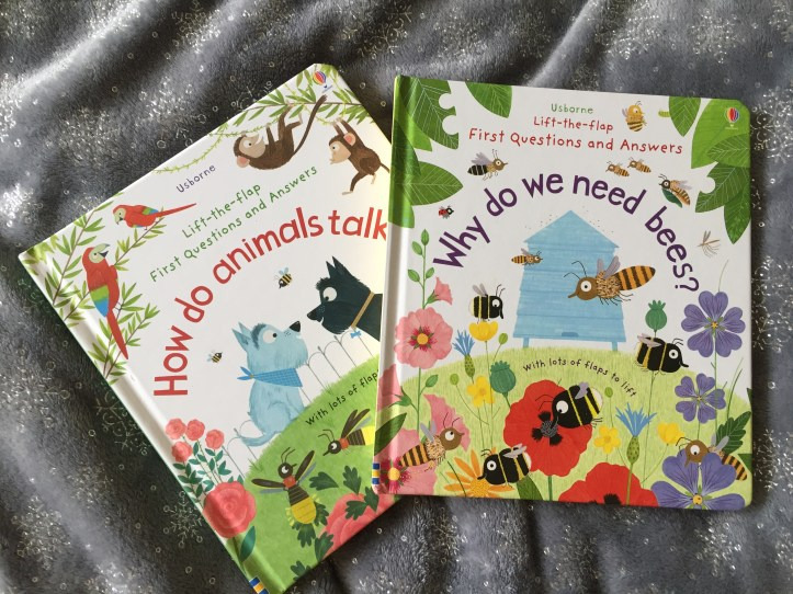 usborne books review - nature and bees