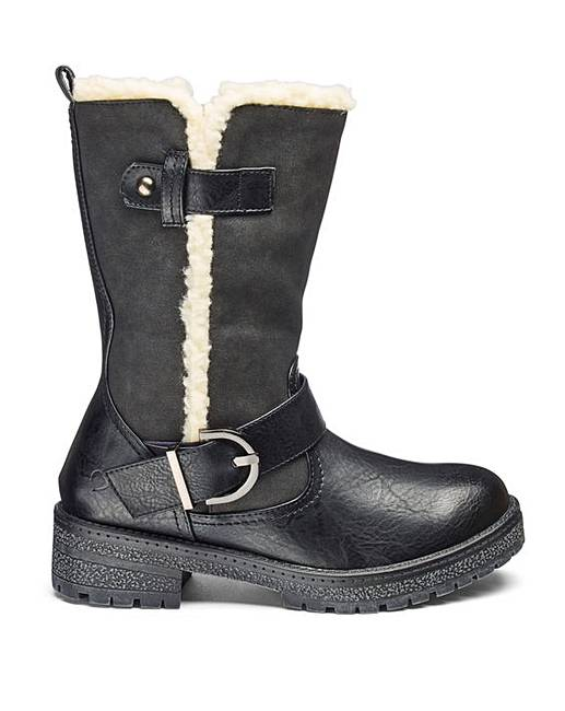 fur lined boots for winter