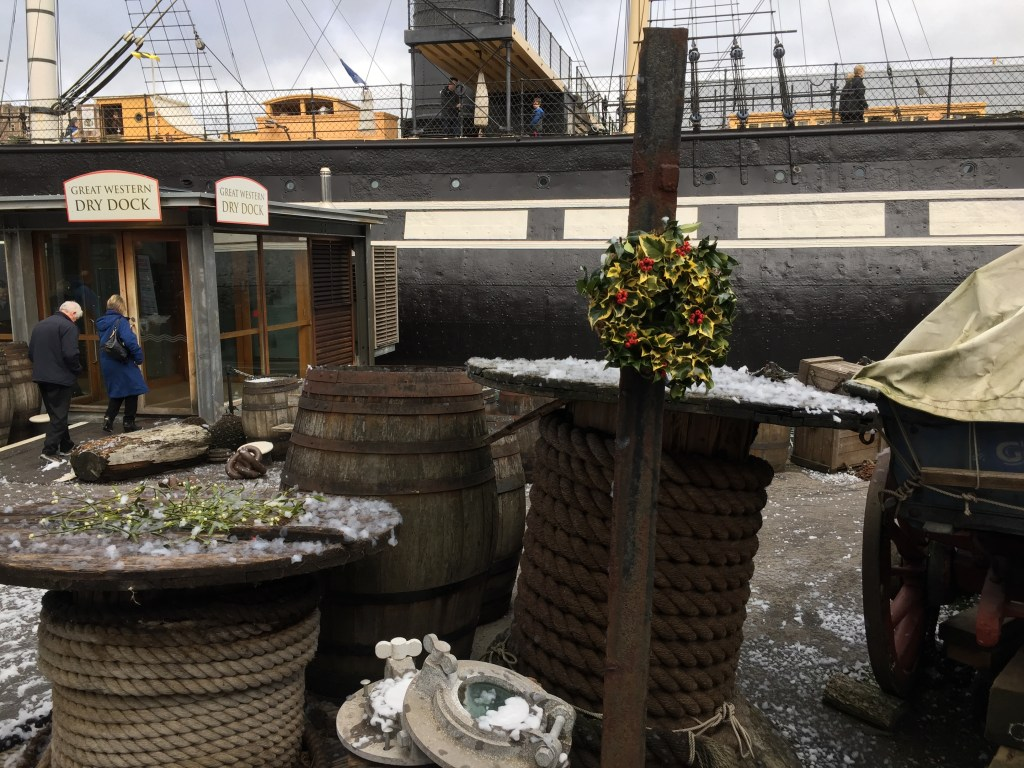 The SS Great Britain Victorian Christmas Weekend in Bristol - Review